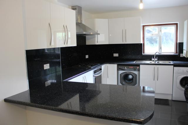 Photo gallery best quality fitting ltd - White and black tiles for kitchen design ...